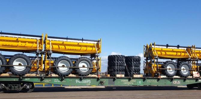 CF&S Organise Another Load of Agricultural Machinery by Rail