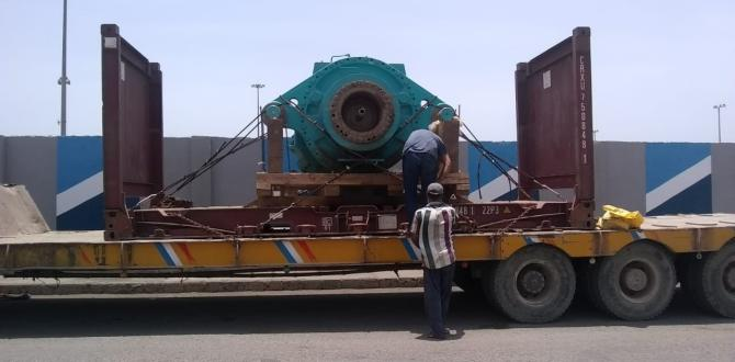 Star Shipping Pakistan Handles 2 Heavy Gear Boxes