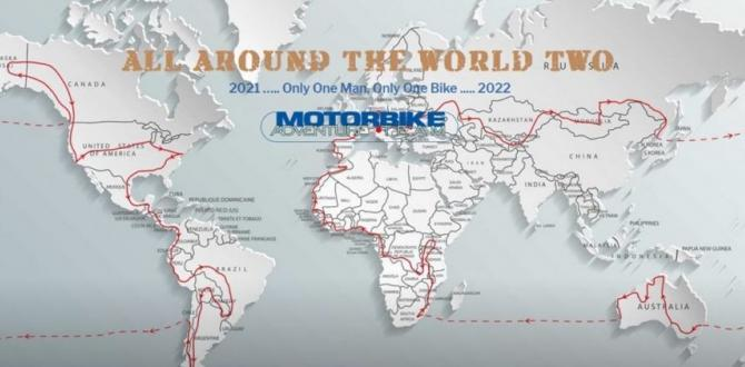Fortune International Transport Sponsoring Worldwide Solo Motorbiking Tour