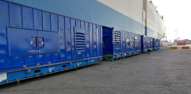 Wilhelmsen Dispatches Power Generation Equipment to the USA