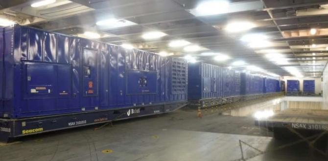 Wilhelmsen Dispatches Power Generation Equipment to the USA