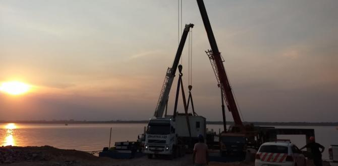 CTO do Brasil Complete Inland Transport of Dismantled MHC 65