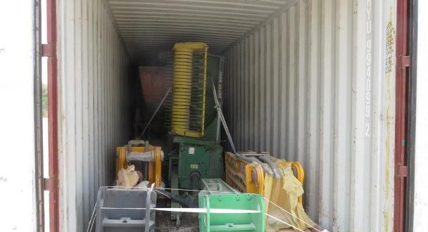 Polaris with Shipment of Used Plant Machinery to Kenya