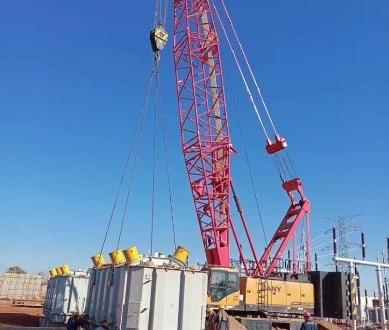 Star Shipping Delivers 4 Transformers to Iraq