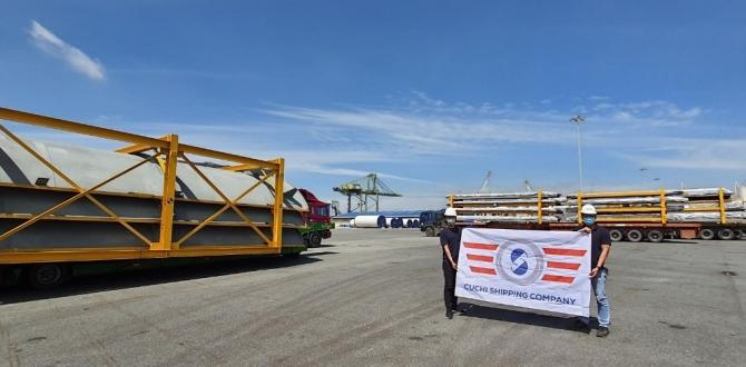 Cuchi Vietnam Handle Transport of OOG Steel Structures