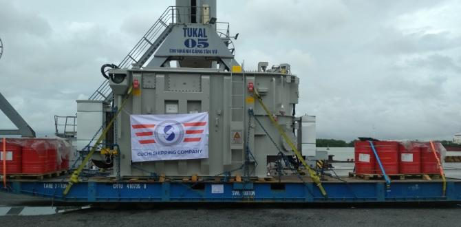 Cuchi Vietnam with Shipping of Two 70tn Transformers