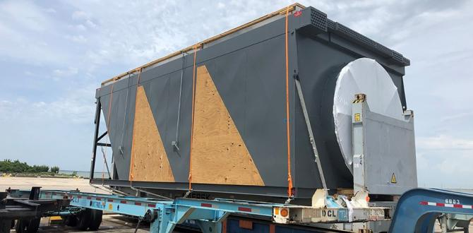 C.H. Robinson Project Logistics Carefully Handle 18 Air Coolers