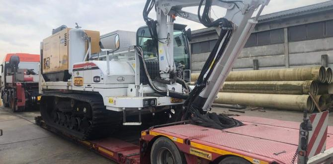 Livo Logistics with Transport of Construction Equipment