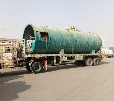 Star Shipping Pakistan Delivers Enormous Breakbulk Load