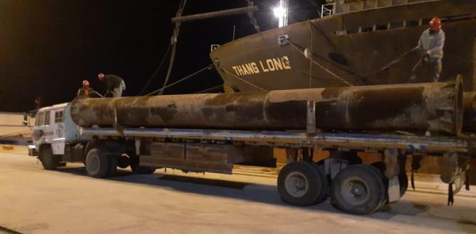 Star Shipping Pakistan Loads OOG Cargo at Gwadar Seaport