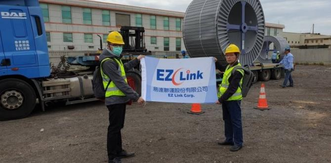EZ Link Taiwan & Noatum South Korea Team Up for Cable Drum Movement
