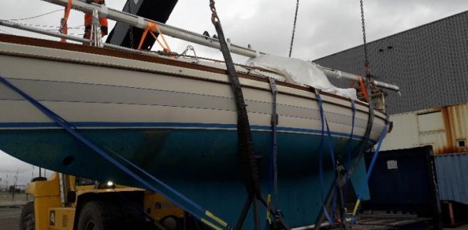 Europe Cargo Discharge Sailboat