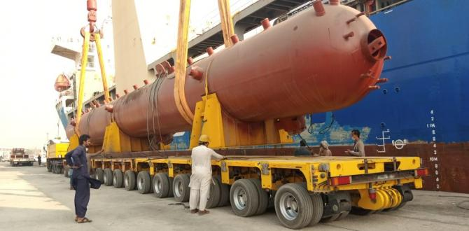 Star Shipping with Another Successful Project Delivery from Karachi Port