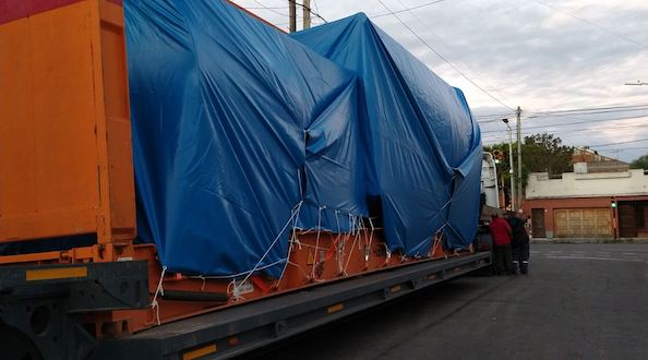 Shipway Handles Dryer Chambers from Argentina to Peru