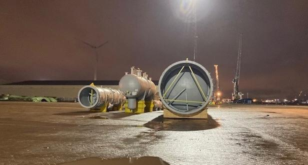 Europe Cargo Share their Recent Cargo Operations at Antwerp