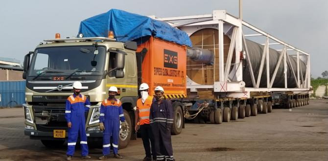 EXG Executes Breakbulk Shipment from India to the UAE