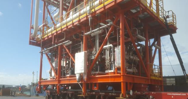 M-Star Projects Handle Another Shipment of Gas Modules