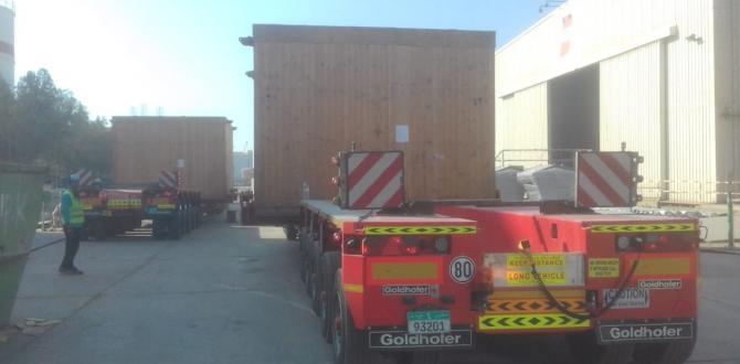 UF Logistics Pakistan Handle 2 Steam Turbines
