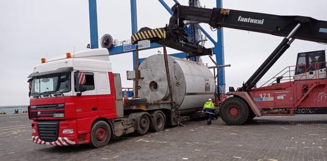 Alphatrans Ukraine Report Delivery of Spray Dryer