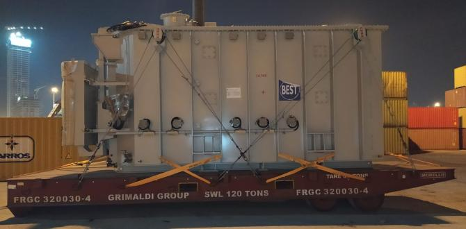 Origin Logistics with Shipping of Two Power Transformers