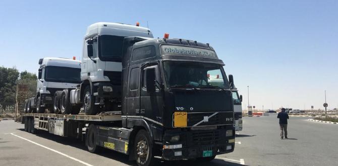 Polaris Handling Shipments of Mercedes-Benz Trucks
