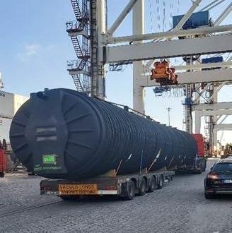 Pinto Basto Handle Door-to-Door Shipment of 20m Tanks