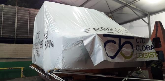 CTO do Brasil Handle Transportation of Flight Simulator