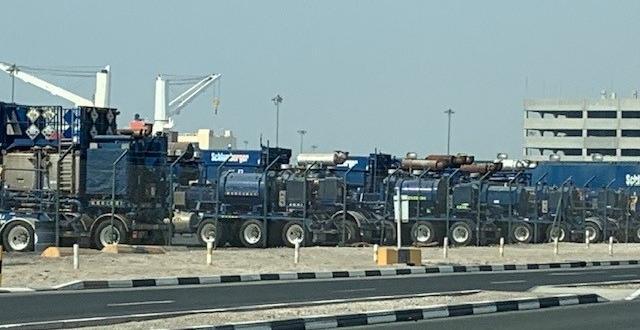 Wilhelmsen UAE with Several Shipments of Oilfield Vehicles