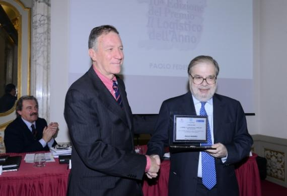 Paolo Federici of Fortune (Italy) Honoured with Logistics Award
