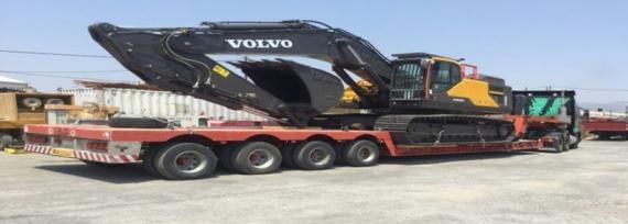 Delta Maritime Delivers 28 Volvo Hydraulic Excavators in Greece
