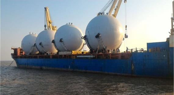 Express Global Logistics Successfully Handle Complex Operations for LPG Tanks