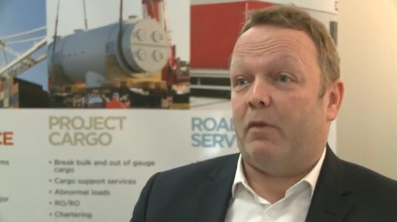 Michael White at Brunel Interviewed by Mainstream Media on China to London Rail Link