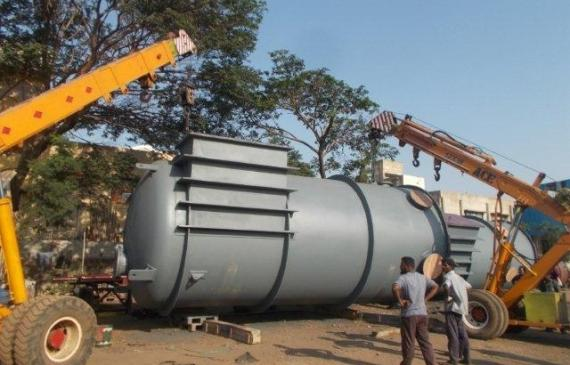 Vangard Logistics Handle Project Shipment of Large Boilers in India