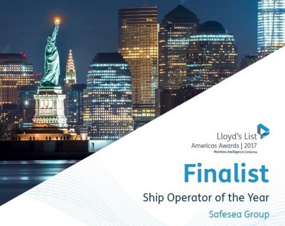 Safesea Named as Finalists for Lloyds List 'Ship Operator of the Year'