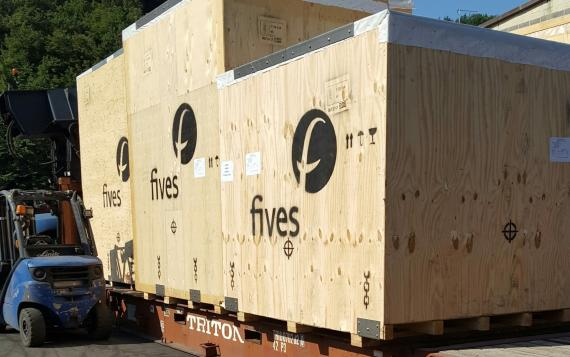 CMX & Fortune Handle Shipment of Tube Manufacturing Mill
