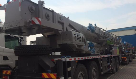 OLA Arrange RORO Shipping of Truck Cranes