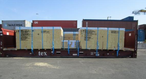Titan Handle Shipment from Italy to the USA