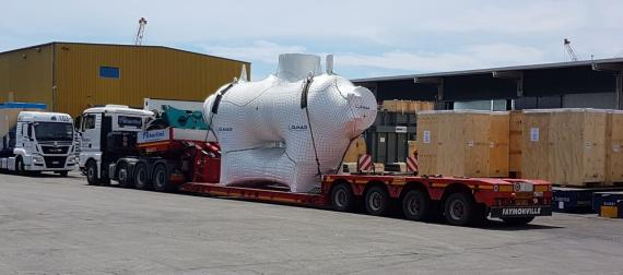 Livo Logistics with Multimodal Transport of Filter Separator Sets