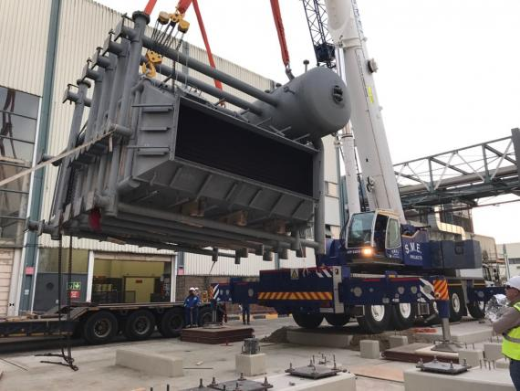 Afriguide Handles Delivery of Heat Recovery Steam Generator System