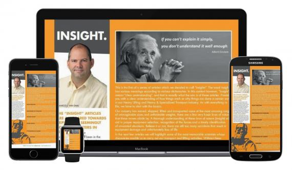 New Series of Articles called 'Insights' in our Digital Newsletter