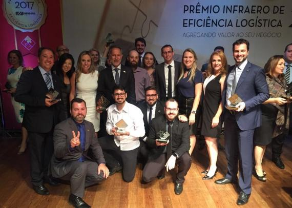 DC Logistics Recognised at the 2017 Infraero's Logistics Efficiency Awards