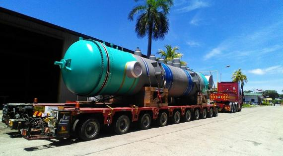 Megalift Handles OOG Cargo from Europe to Labuan in Malaysia