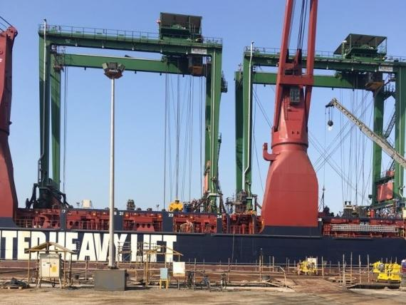 Wilhelmsen Handles 23,400frt of Port Handling Equipment