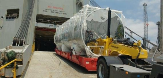 CTO do Brasil Handle RORO Shipment