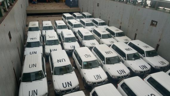 Stewart Corporation Executes Full Shipload for UN Consignment
