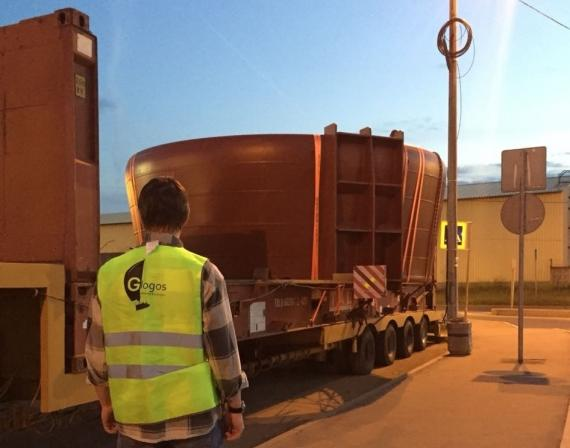 Glogos in Russia Deliver Oversized Cargo with Eastern Shipping