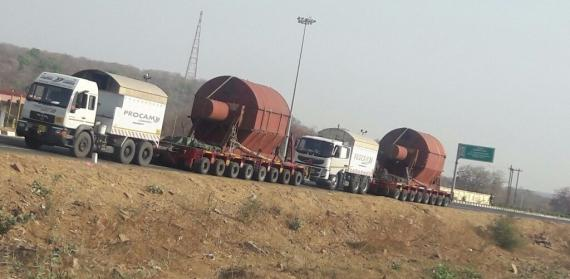 Procam Executes Transportation of LP Rotors