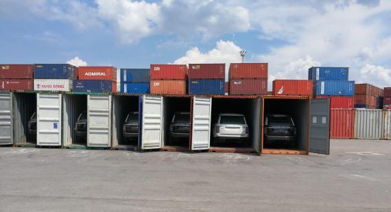 BATI with Urgent Shipment of 27 Range Rovers