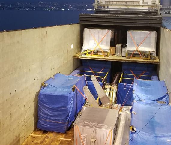 BATI Ship Power Plant from Turkey to Tunisia