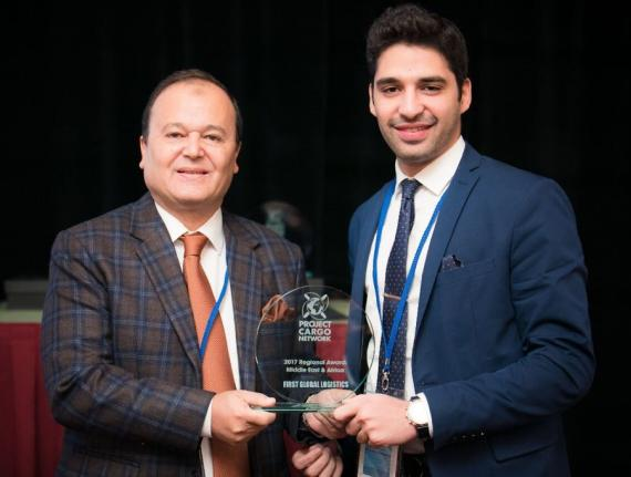 Khaled Sabry of First Global Logistics Elected as EIFFA Vice-President